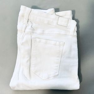 Guess BRITTANY White Boot Cut Jeans
